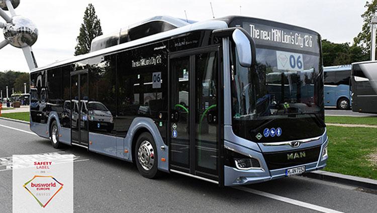 """Der neue MAN Lion's City gewinnt """"Safety Label Bus"""""""