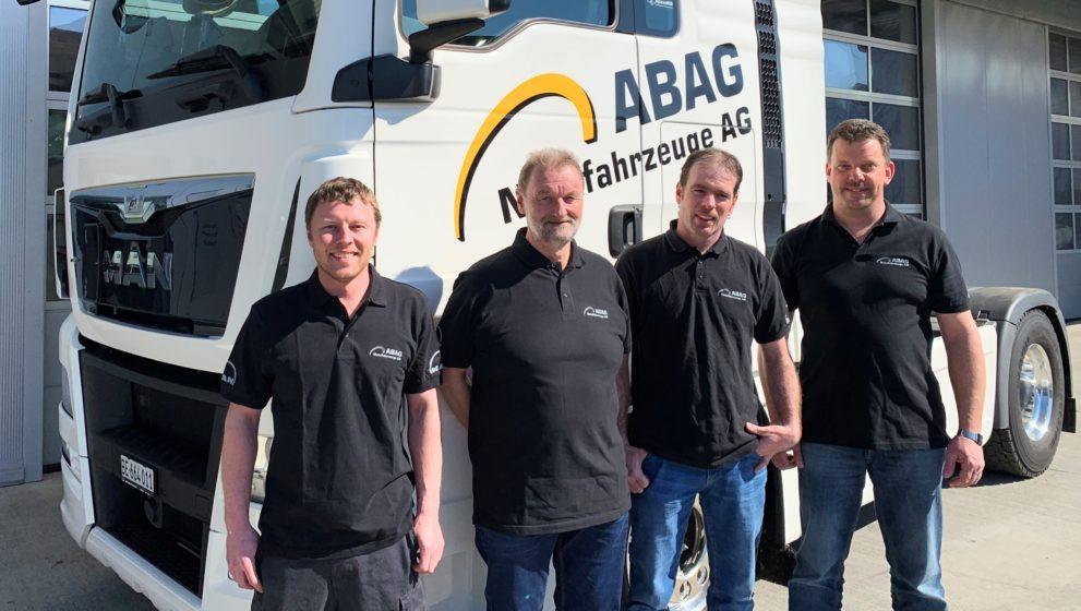 Vierter Platz für ABAG Nutzfahrzeuge AG Belp