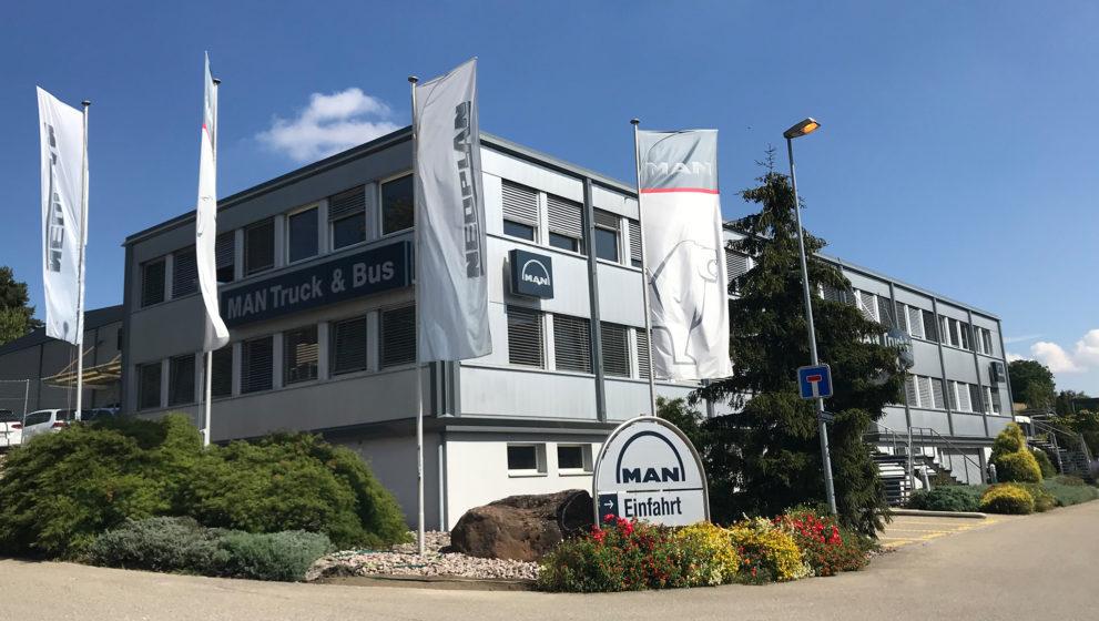 Führungswechsel bei MAN Truck & Bus Schweiz AG