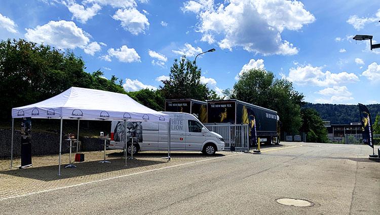 Die neue MAN Truck Generation tourt durch die Schweiz.