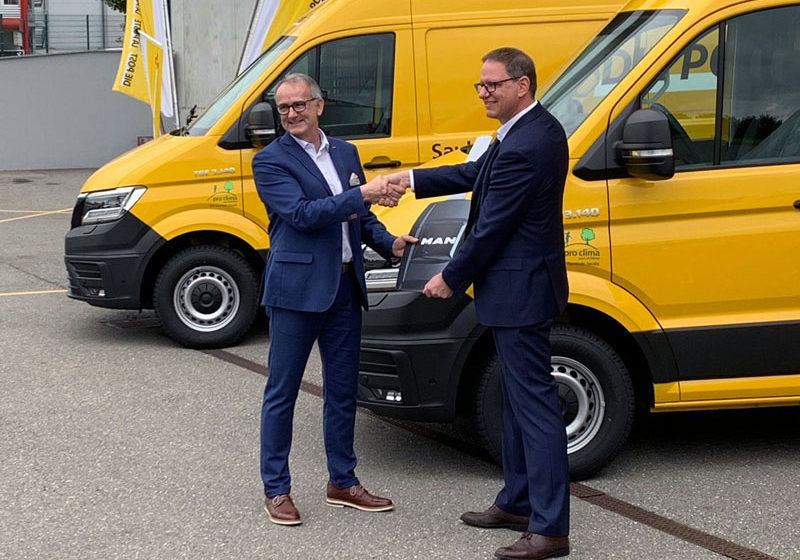 11 MAN eTGE für die Schweizerische Post