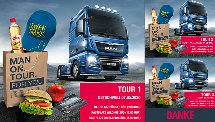 MAN ON TOUR, FOR YOU!