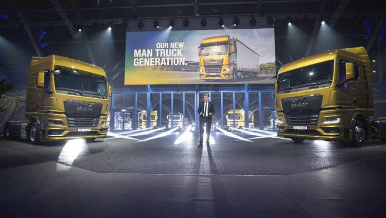 MAN Truck & Bus stellt neue Lkw-Generation vor