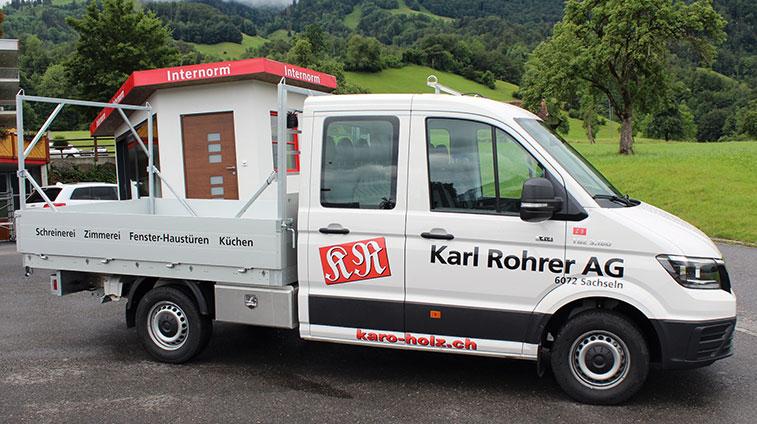 Löwenstarker Zuwachs bei der Karl Rohrer AG