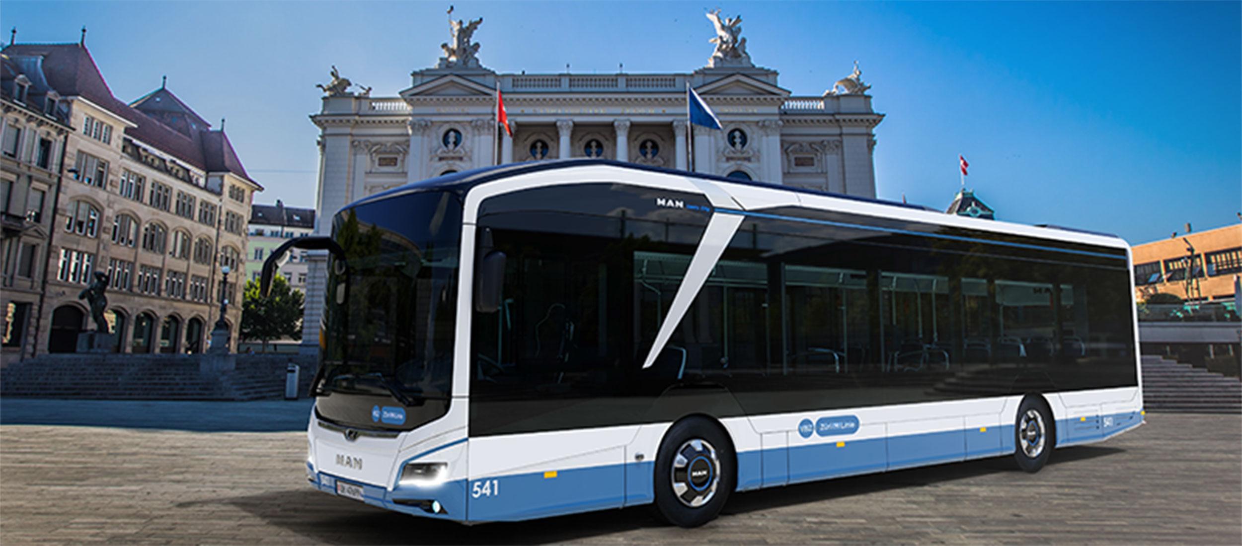 15 MAN Lion's City 12 E für die Stadt Zürich