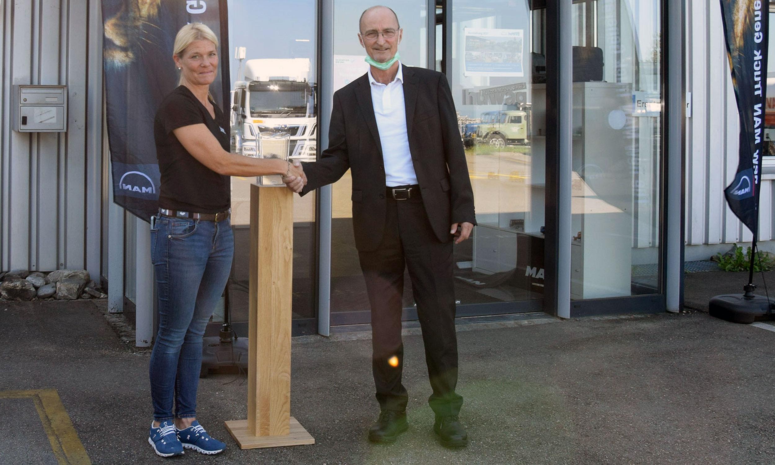huwag Nutzfahrzeuge AG feiert dieses Jahr das 35 Jahre Firmenjubiläum