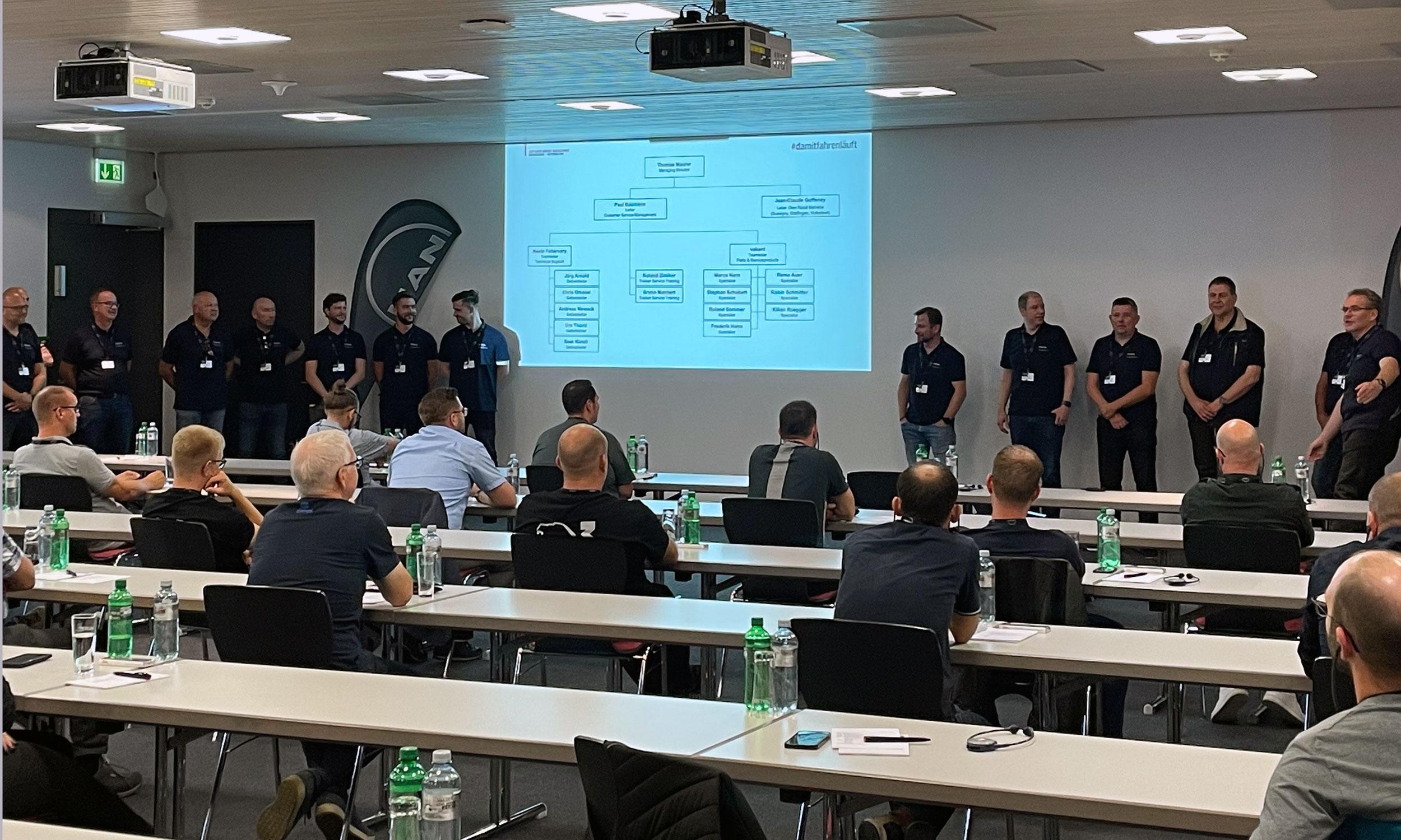 MAN Customer Service Management Meeting Schweiz 2021